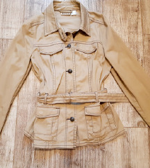 Mantil jakna prolecni krem