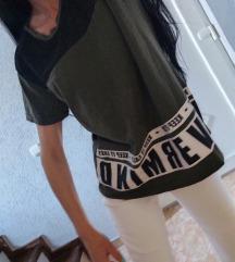Majica FB SISTER,maslinasto crna