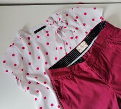 Ciklama Lindex pantalone na poklon bluza