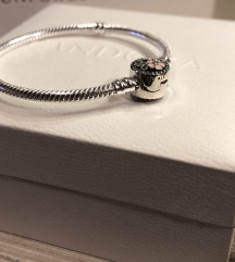 Pandora srebrna narukvica