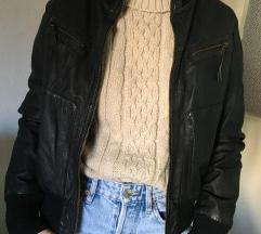 Original Pepe Jeans kožna jakna