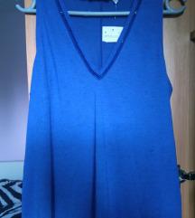 Novo Plava majica/bluzica M/L