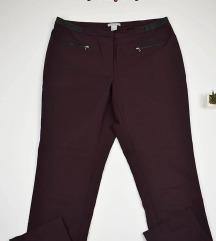 H^M bordo pantalone 44