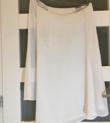 VERO MODA bela haljina na jedno rame