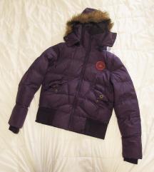 43. Converse mont jakna sa kapuljačom, ljubičasta