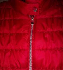 Crvena jakna nova SNIŽENO