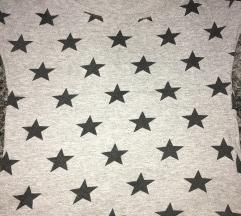 Siva majica sa zvezdicama