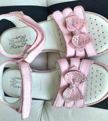 Roze geox kožne sandale 32