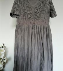 Cream divna haljina M