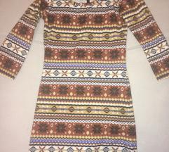 Zimska sarena haljina M