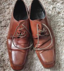 Kozne muske cipele drap boje