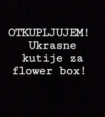 OTKUPLJUJEM! Ukrasne kutije za flower box.
