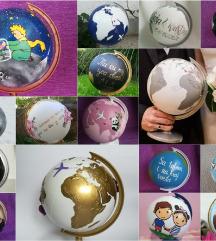 Oslikani globusi