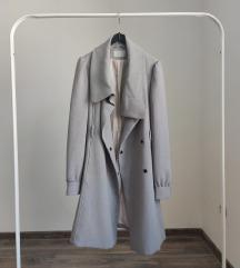 H&M sivi kaput/mantil