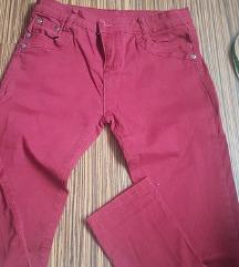 bordo pantalone elasticne