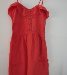 Naranžasta haljina