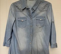 C&A ženska teksas košulja