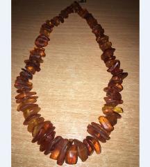 Ogrlica neobradjen ruski cilibar za odrasle