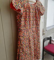 Nova haljina divnih boja sa odfaltama