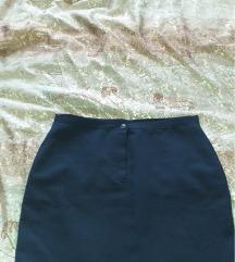 crno teget suknja