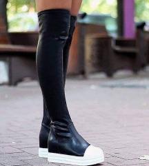 Kozne cizme iznad kolena👣samo prodaja
