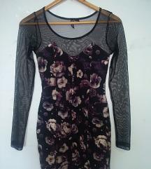 Flowers haljina, vintage, prelepa. Akcija 750