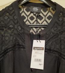 Crna košulja-tunika