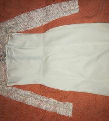Nova bela haljinica sa cipkom