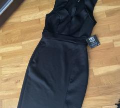 NOVA haljina sa etkietom do kolena sa slicom!
