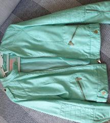 Mint kožna jakna
