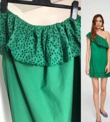 Mango zelena haljina, nova