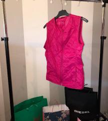 Benetton pink prsluk
