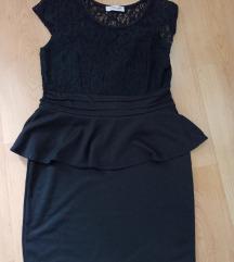 Crna haljina snižena 300