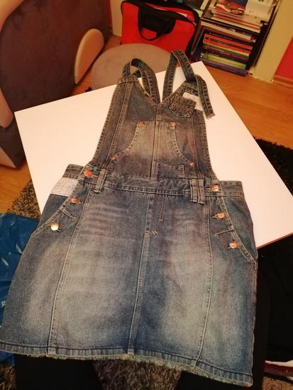 Zenska teksas suknja
