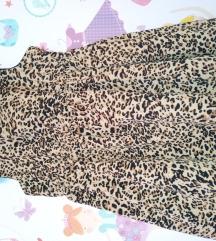 haljinica leopard print svila vel 86