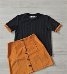 Komplet - suknja i majica kratkih rukava