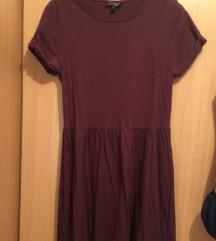 Topshop bordo mini haljina