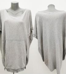 PINKO KNIT neobična bluza,svila-kashmir  M