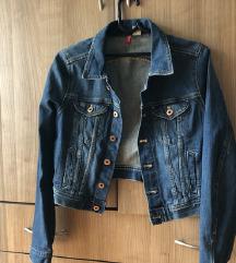 NOVA H&M crop teksas jakna