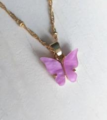 Butterfly mariposa ogrlica