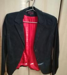 Crni sako pamučni