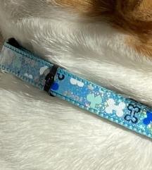 Ogrlica za kucu baby plava