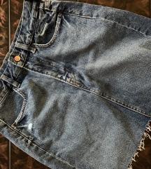 Teksas suknja h&m 38