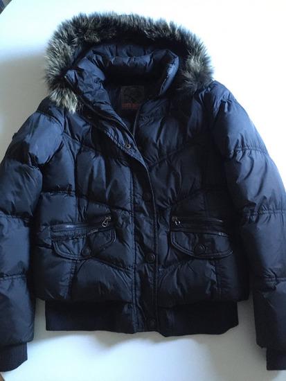 Crna zimska jakna XL