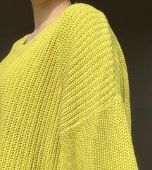 Žuto-zeleni džemper
