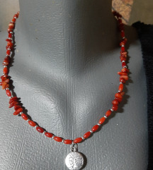 Ogrlica crveni koral