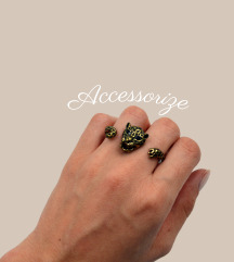 Accessorize * NOVO * dupli prsten