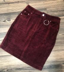 Nova somot suknja S/M