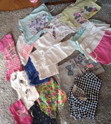 20 komada letnje garderobe  6-8 godina