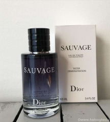 Dior sauvage tester edt